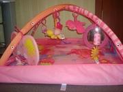 Развивающий коврик «Принцесса» Tiny Love со съемными дугами