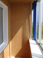 Отделка балконов. Утепление балконов.