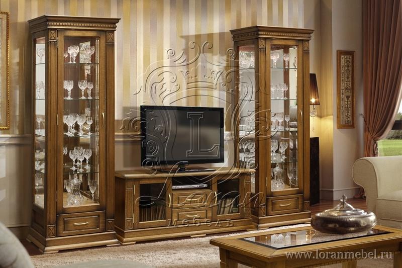 Высота: 2030 мм. Корпусная мебель для гостиной Модерн Алтея отличается вместительностью секций и наличием