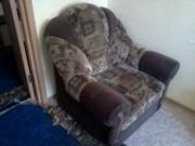 кресло-кровать немного бу
