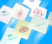 Печать на салфетках. Нанесение логотипов на салфетки,  Иркутск