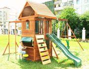 Беседки,  садово-парковая мебель и детские комплексы