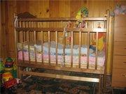Красивая кроватка наша мама+ матрасик. Доставка на дом