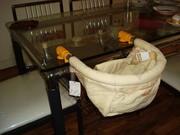 Детский подвесной стульчик для кормления - на все случаи жизни.