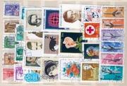 В подарок - кучка марок