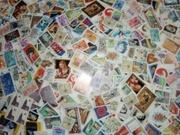 Большая куча марок