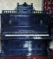 Антикварное немецкое пианино