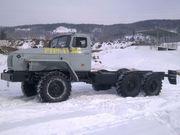Шасси Урал 5557 с ЯМЗ-238М2 под переоборудование