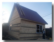 Продам новый дом из бруса,  35 м²