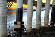 Усиление узлов сопряжения стен с колоннами