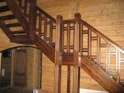 Лестницы из блaгopoдныx пopoд дepeвa в Иркутске