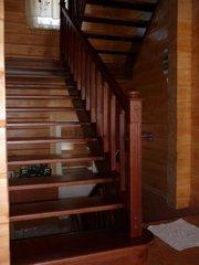 установим лестницы и двери