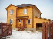 Строительство деревянных домов. Компания Эльбрус.