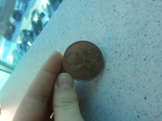 Продам пятирублёвую монету 1989 года