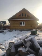 Продается 2 дома из бруса на участке 15 соток п. Пионерск,  ул. Дачная.
